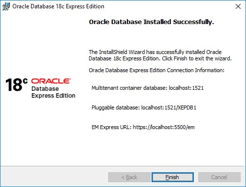 Install Oracle 18C XE on Windows 10 | dbahelp